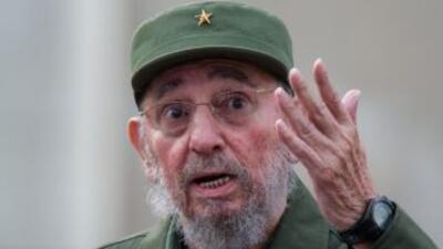 El expresidente cubano Fidel Castro.