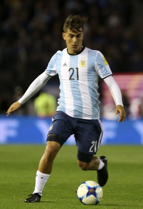 Paulo Dybala - 23 años (Argentina / Juventus F.C.)