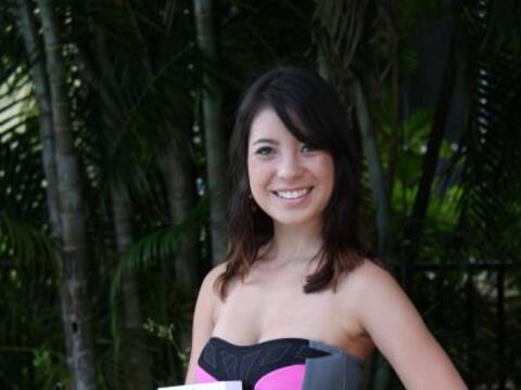 Ella es Ashle, la ganadora de Nuestra Belleza Picante.