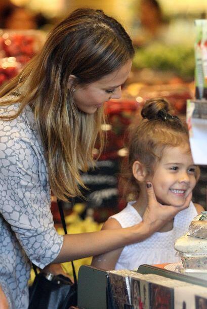 También se la vive en salones de belleza gracias a su mamá Jessica Alba,...