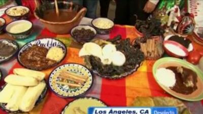 El festival del Mole en Los Angeles