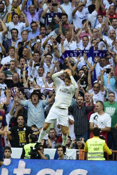 La tranquilidad llegaba al Bernabéu el cerco se había roto.