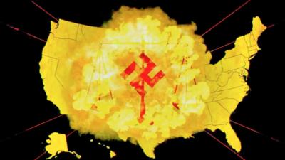 Atomwaffen, un grupo radical que propaga el racismo en veneración a Adolf Hitler y Charles Manson