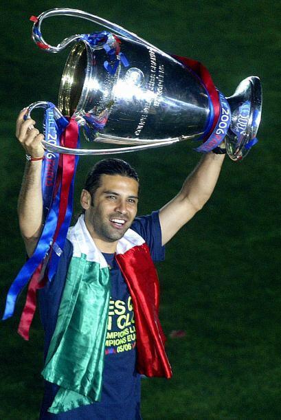 Nuevamente tuvo la suerte de ganar la UEFA en el año 2006.