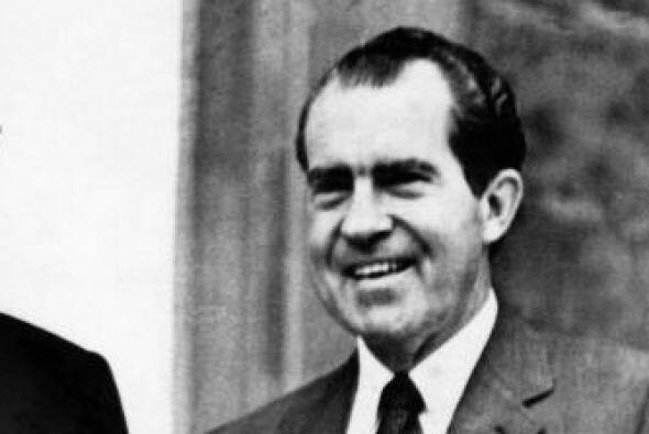 Se reveló que Nixon tenía un sistema de grabación de cintas magnéticas e...