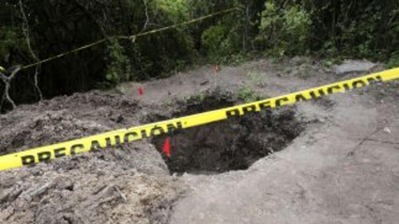 Hasta ahora han encontrado unos 40 restos humanos en Iguala.
