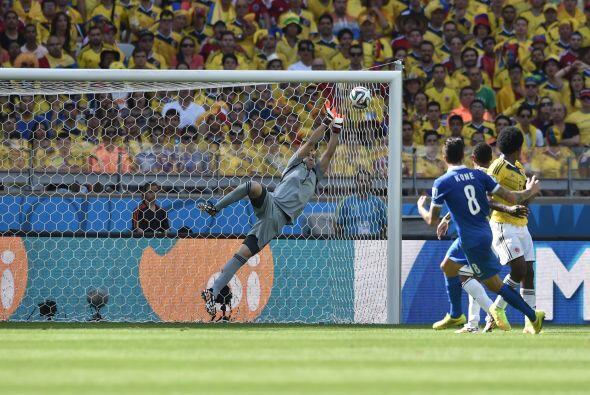 La atajada de Ospina fue fundamental para que Colombia se fuera al desca...