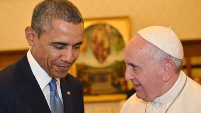 Francisco y Obama discuten la reforma migratoria