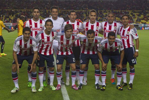 Las Chivas de Guadalajara, se ubican en el cuarto sitio de los equipos m...