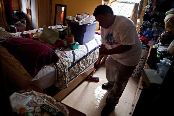 Limpieza daños Sandy
