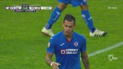 ¡La que dejó ir Caraglio para la igualada de Cruz Azul!