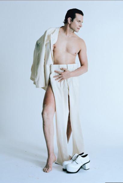 ¡Y aquí está la atrevida foto! Pero Ellen DeGeneres le encontró la graci...