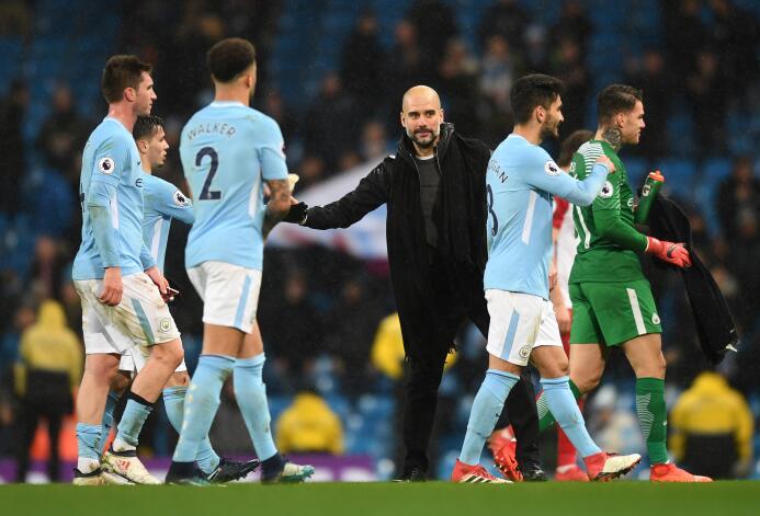 Manchester City amplía su ventaja tras derrotas del United y Chelsea get...