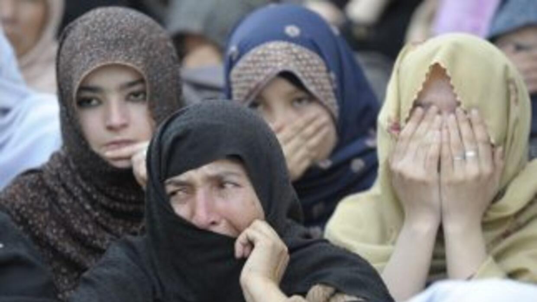 Durante 2011 murieron casi un millar de mujeres en sucesos de este tipo...