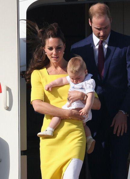 El hijo del príncipe de Inglaterra William y su esposa Kate, ya aprendió...