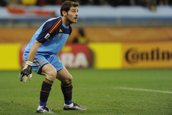 Iker llega al Mundial de Brasil con 433 minutos manteniendo el cero en s...