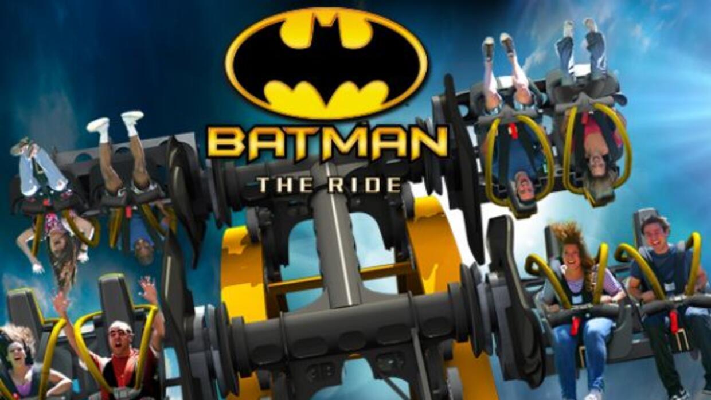 Six Flags Fiesta presentó Batman: The Ride, un juego mecánico 4D que inc...
