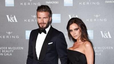 Victoria y David Beckham siempre impactan en todos los eventos que van.