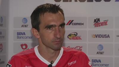 Marcelo Barovero, ilusionado con disputar su primer Clásico Regio