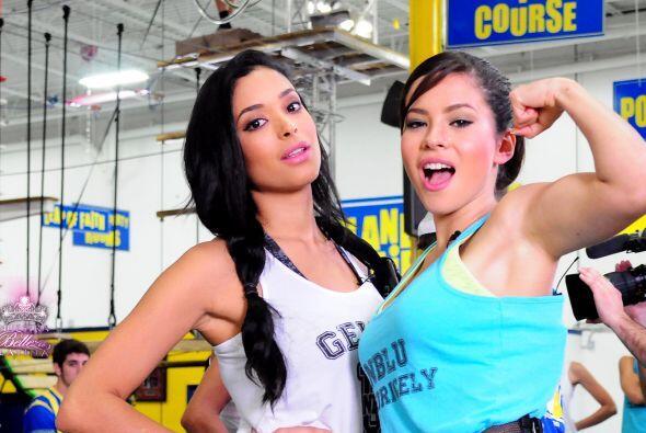 La dominicana Geisha Montesdeca es la más reservada y seria de la compet...