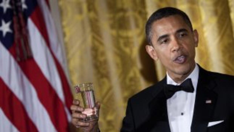 Obama organizó una gala en la Casa Blanca para rendir homenaje a los sol...
