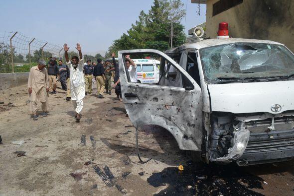 La explosión tuvo lugar en la comisaría de Quetta, la capital provincial...