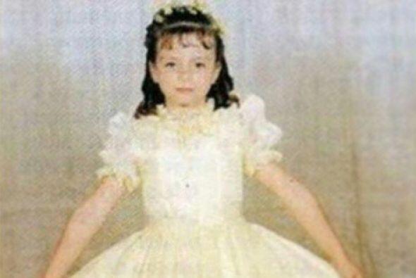 Silvia incursionó en el medio artístico cuando apenas era una niña.
