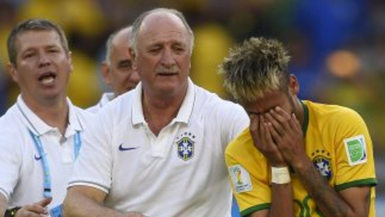 Neymar se perdería el juego contra Alemania.