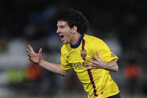 Pero Lionel Messi marcó dos goles para evitar que su equipo hiciera un g...