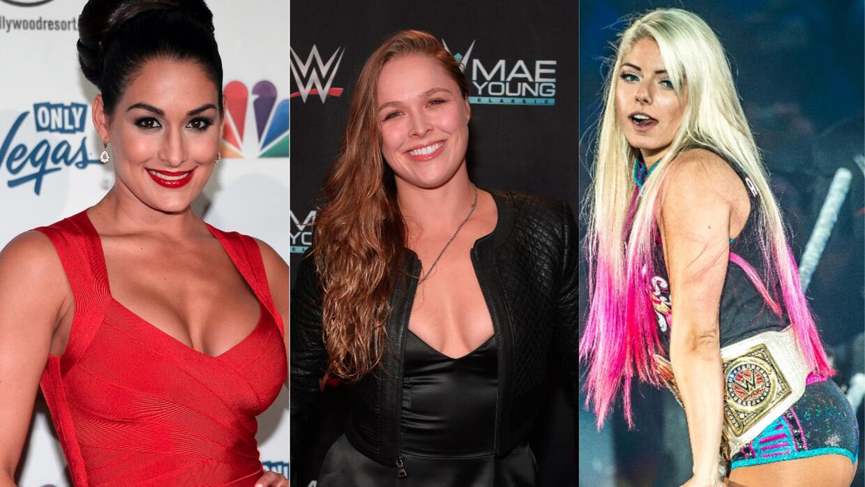 Ronda Rousey y otros deportistas que saltaron de sus disciplinas a la WW...
