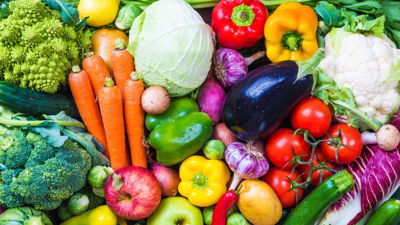 El mantra: vegetales y frutas en todas las comidas.