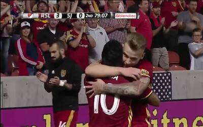 El checo Albert Rusnak confirma la goleada de Real Salt Lake sobre San Jose