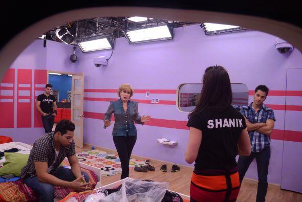 Univision.com estuvo detrás del vidrio en esta discusión.