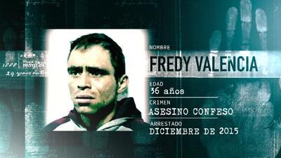 La Huella de un Crimen: La macabra confesión de Fredy Valencia, mataba a mujeres drogadictas a sangre fría