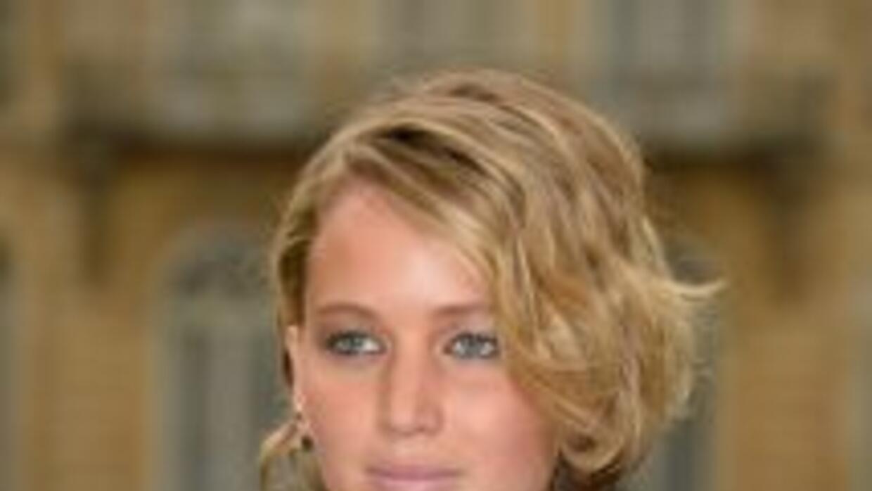 Jennifer Lawrence, en una foto durante la Semana de la Moda en Paris, en...