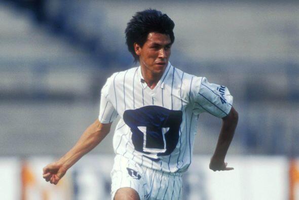 Claudio Suárez fue un ícono de la defensa de Pumas durante...