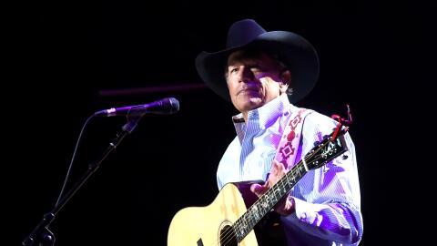 SAN ANTONIO, TX - SEPTEMBER 12: George Strait performs onstage during Ge...