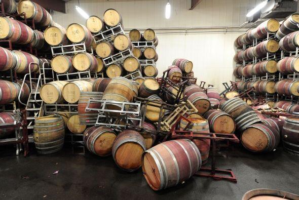 Los mayores daños ocurrieron en la zona vinícola de Napa.