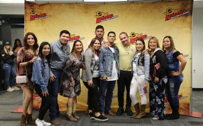 Recording artist J Balvin greets fans backstage at the  San Antonio rode...