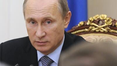 """Putin aseguró que desea """"la restauración del diálogo con los servic..."""