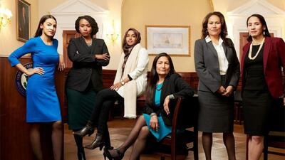 Estas son las mujeres que llegan a Washington con el objetivo de impulsar cambios