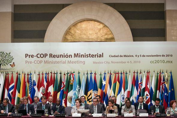 Previo a la Conferencia de las Naciones Unidas en Cancún, se llev...