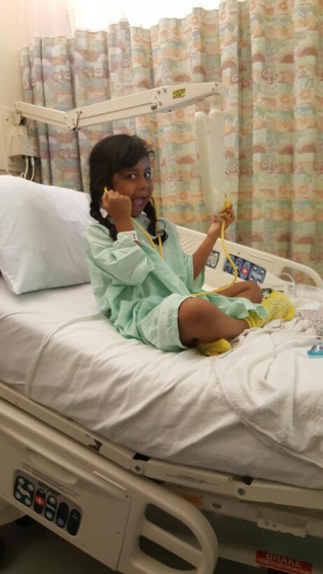 Emily Hernández donó dos rondas de células a su hermana.
