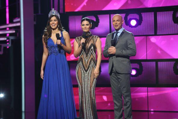 Paulina Vega fue la invitada de honor en la segunda gala del show. La Mi...