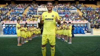 Jonathan dos Santos ya se presentó a los entrenamientos del Villarreal.