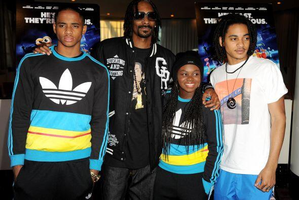 """Snoop recalcó que la educación de Cordell """"es lo importante. Asegurarse..."""
