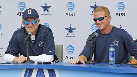 Jerry Jones está muy contento con Jason Garrett pese a que no ha...