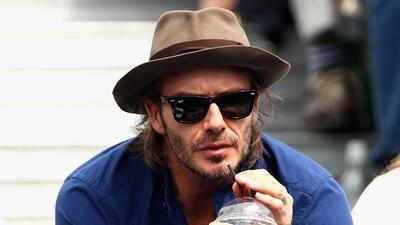 Si de metrosexuales se trata, David Beckham fue pionero en el fútbol