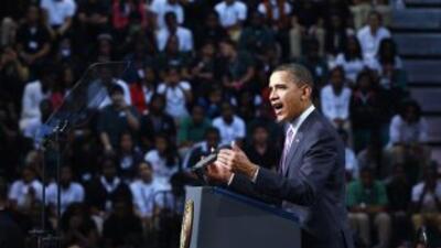 Obama aseguró, que el crecimiento de la economía del país dependerá de u...