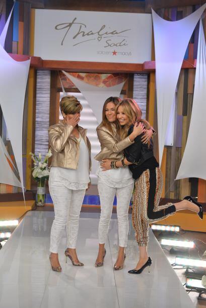 Thalía pidió a todos sus seguidores respetar y llenar de amor a sus padres.